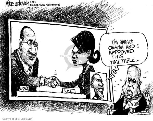 Mike Luckovich  Mike Luckovich's Editorial Cartoons 2008-08-22 2008 election