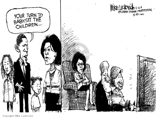 Mike Luckovich  Mike Luckovich's Editorial Cartoons 2008-08-26 2008 election