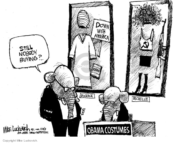 Mike Luckovich  Mike Luckovich's Editorial Cartoons 2008-08-28 Obama terrorism