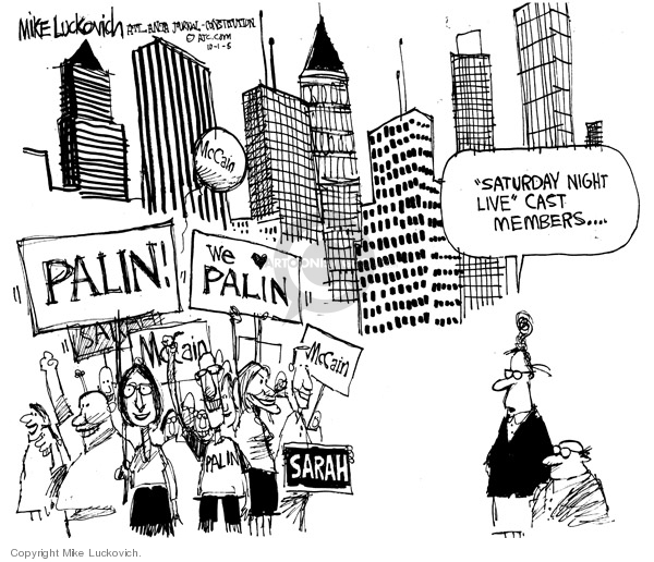 Mike Luckovich  Mike Luckovich's Editorial Cartoons 2008-10-01 rally