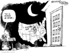 Cartoonist Mike Luckovich  Mike Luckovich's Editorial Cartoons 2008-10-21 John McCain