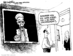 Cartoonist Mike Luckovich  Mike Luckovich's Editorial Cartoons 2008-10-23 2008 election
