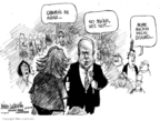 Cartoonist Mike Luckovich  Mike Luckovich's Editorial Cartoons 2008-10-28 McCain Palin