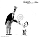 Cartoonist Mike Luckovich  Mike Luckovich's Editorial Cartoons 2008-11-07 2008 election