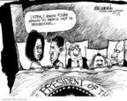 Cartoonist Mike Luckovich  Mike Luckovich's Editorial Cartoons 2009-02-02 bipartisanship