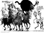 Cartoonist Mike Luckovich  Mike Luckovich's Editorial Cartoons 2009-03-20 cat