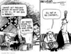 Cartoonist Mike Luckovich  Mike Luckovich's Editorial Cartoons 2009-07-24 before