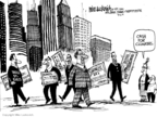 Cartoonist Mike Luckovich  Mike Luckovich's Editorial Cartoons 2009-08-06 professional