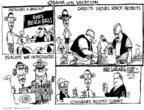 Cartoonist Mike Luckovich  Mike Luckovich's Editorial Cartoons 2009-08-26 ball