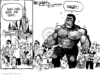 Cartoonist Mike Luckovich  Mike Luckovich's Editorial Cartoons 2009-09-03 anger