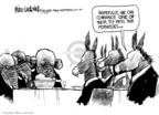 Cartoonist Mike Luckovich  Mike Luckovich's Editorial Cartoons 2009-11-25 bipartisanship