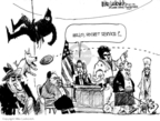 Cartoonist Mike Luckovich  Mike Luckovich's Editorial Cartoons 2009-12-01 catch