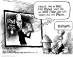 Cartoonist Mike Luckovich  Mike Luckovich's Editorial Cartoons 2010-01-28 apple