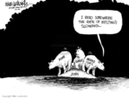 Cartoonist Mike Luckovich  Mike Luckovich's Editorial Cartoons 2010-03-11 ice