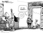 Cartoonist Mike Luckovich  Mike Luckovich's Editorial Cartoons 2010-04-04 pharmacist