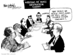 Cartoonist Mike Luckovich  Mike Luckovich's Editorial Cartoons 2010-04-13 double