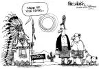 Cartoonist Mike Luckovich  Mike Luckovich's Editorial Cartoons 2010-04-29 illegal