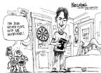 Cartoonist Mike Luckovich  Mike Luckovich's Editorial Cartoons 2010-06-27 never