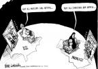 Cartoonist Mike Luckovich  Mike Luckovich's Editorial Cartoons 2010-09-08 protest