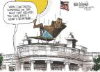 Cartoonist Mike Luckovich  Mike Luckovich's Editorial Cartoons 2010-10-07 steroids