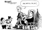 Cartoonist Mike Luckovich  Mike Luckovich's Editorial Cartoons 2010-11-30 saint