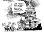 Cartoonist Mike Luckovich  Mike Luckovich's Editorial Cartoons 2011-01-21 health care repeal