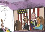 Cartoonist Mike Luckovich  Mike Luckovich's Editorial Cartoons 2011-01-23 Obama Biden