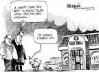Cartoonist Mike Luckovich  Mike Luckovich's Editorial Cartoons 2011-01-27 cat