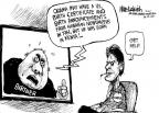 Cartoonist Mike Luckovich  Mike Luckovich's Editorial Cartoons 2011-03-04 1960s