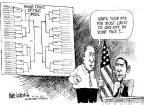 Cartoonist Mike Luckovich  Mike Luckovich's Editorial Cartoons 2011-03-16 March madness