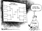 Cartoonist Mike Luckovich  Mike Luckovich's Editorial Cartoons 2011-03-25 March madness
