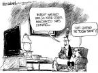 Cartoonist Mike Luckovich  Mike Luckovich's Editorial Cartoons 2011-04-27 her