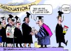 Cartoonist Mike Luckovich  Mike Luckovich's Editorial Cartoons 2011-05-22 education