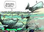 Cartoonist Mike Luckovich  Mike Luckovich's Editorial Cartoons 2011-06-26 climate