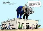 Cartoonist Mike Luckovich  Mike Luckovich's Editorial Cartoons 2011-08-02 gonna