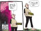 Cartoonist Mike Luckovich  Mike Luckovich's Editorial Cartoons 2011-08-11 poverty