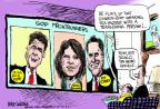 Cartoonist Mike Luckovich  Mike Luckovich's Editorial Cartoons 2011-08-16 Rick