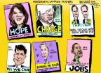 Cartoonist Mike Luckovich  Mike Luckovich's Editorial Cartoons 2011-08-24 Rick