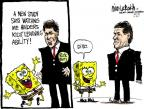 Cartoonist Mike Luckovich  Mike Luckovich's Editorial Cartoons 2011-09-14 Rick