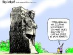 Cartoonist Mike Luckovich  Mike Luckovich's Editorial Cartoons 2011-09-15 memorial
