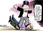 Cartoonist Mike Luckovich  Mike Luckovich's Editorial Cartoons 2011-09-30 poverty