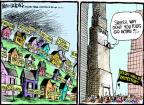 Cartoonist Mike Luckovich  Mike Luckovich's Editorial Cartoons 2011-10-04 poverty