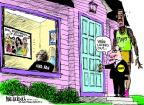 Cartoonist Mike Luckovich  Mike Luckovich's Editorial Cartoons 2011-11-03 professional athlete