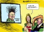 Cartoonist Mike Luckovich  Mike Luckovich's Editorial Cartoons 2011-12-20 North Korea