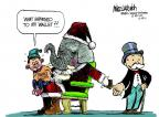 Cartoonist Mike Luckovich  Mike Luckovich's Editorial Cartoons 2011-12-22 happen