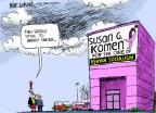 Cartoonist Mike Luckovich  Mike Luckovich's Editorial Cartoons 2012-02-03 cancer