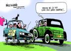 Cartoonist Mike Luckovich  Mike Luckovich's Editorial Cartoons 2012-02-05 poverty