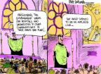 Cartoonist Mike Luckovich  Mike Luckovich's Editorial Cartoons 2012-02-10 Catholic Church