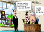 Cartoonist Mike Luckovich  Mike Luckovich's Editorial Cartoons 2012-03-04 $2.50