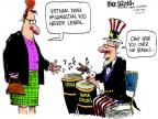 Cartoonist Mike Luckovich  Mike Luckovich's Editorial Cartoons 2012-03-13 Iran